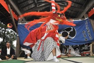 山名神社の天王祭舞楽画像・森町.jpg
